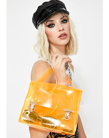 Juicy Fast Forward Clear Crossbody Purse