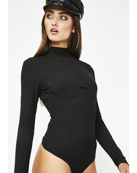 CEO Bish Long Sleeve Bodysuit