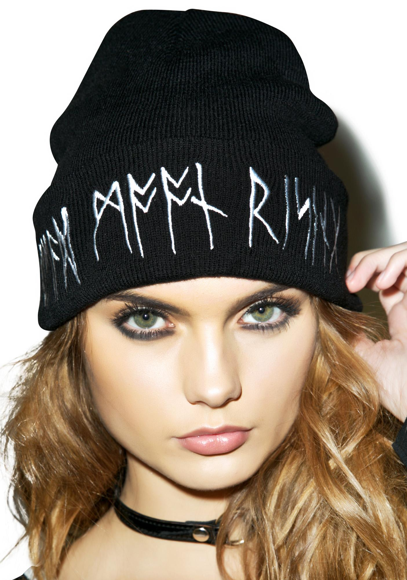 Disturbia Dead Moon Rising Beanie