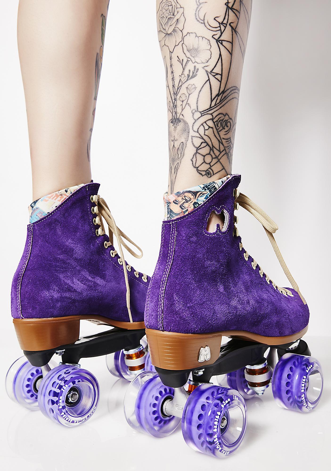 Moxi Roller Skates Grape Lolly Skates