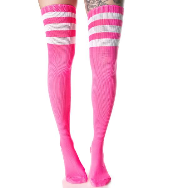 Candy Rack Em Up Thigh Highs
