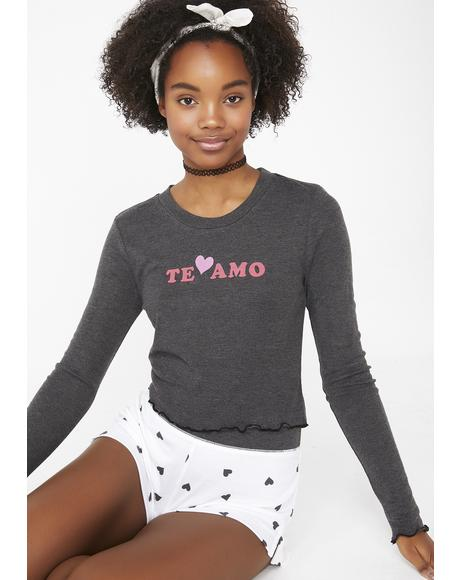 Te Amo Ren Long Sleeve Top
