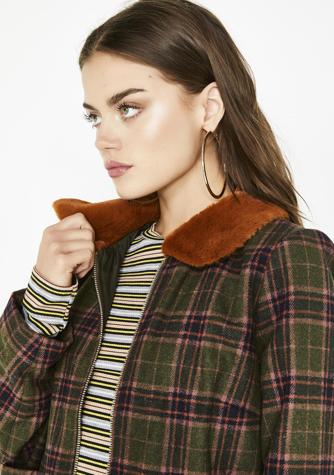 Stack That Plaid Jacket