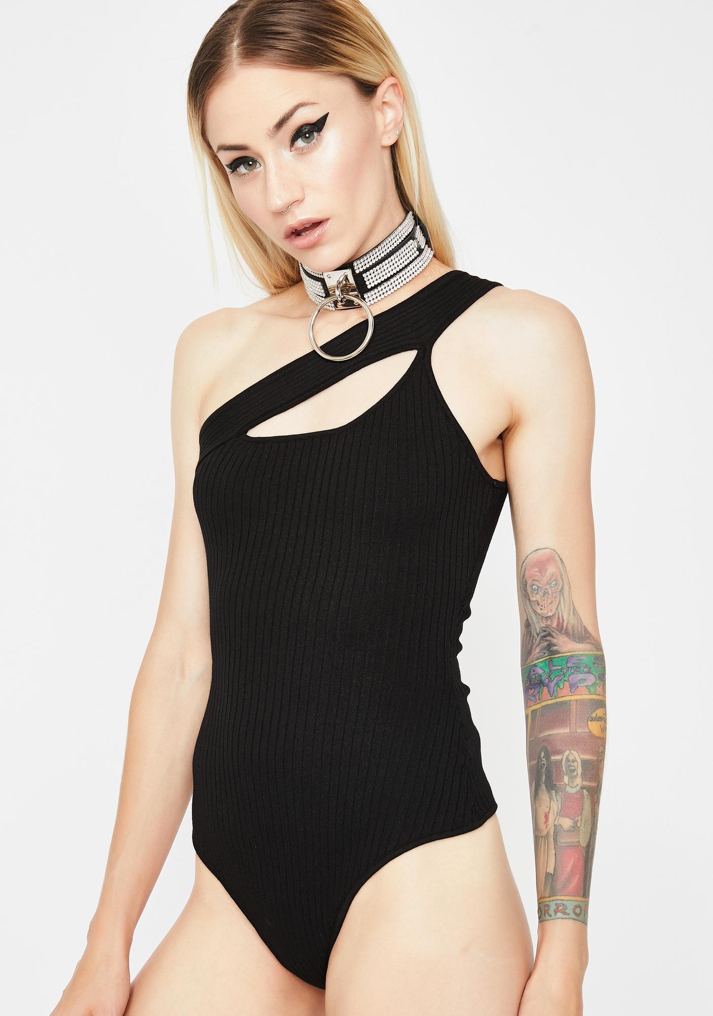 Bad Intent Cutout Bodysuit