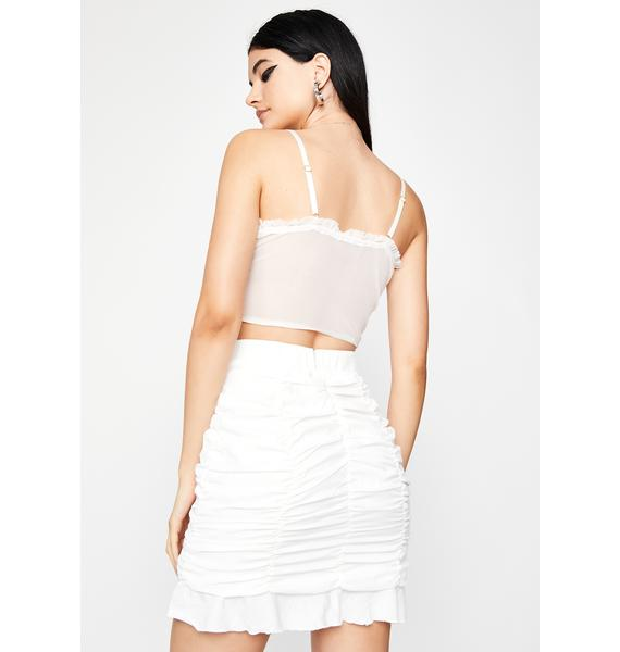Posh Posse Ruched Skirt