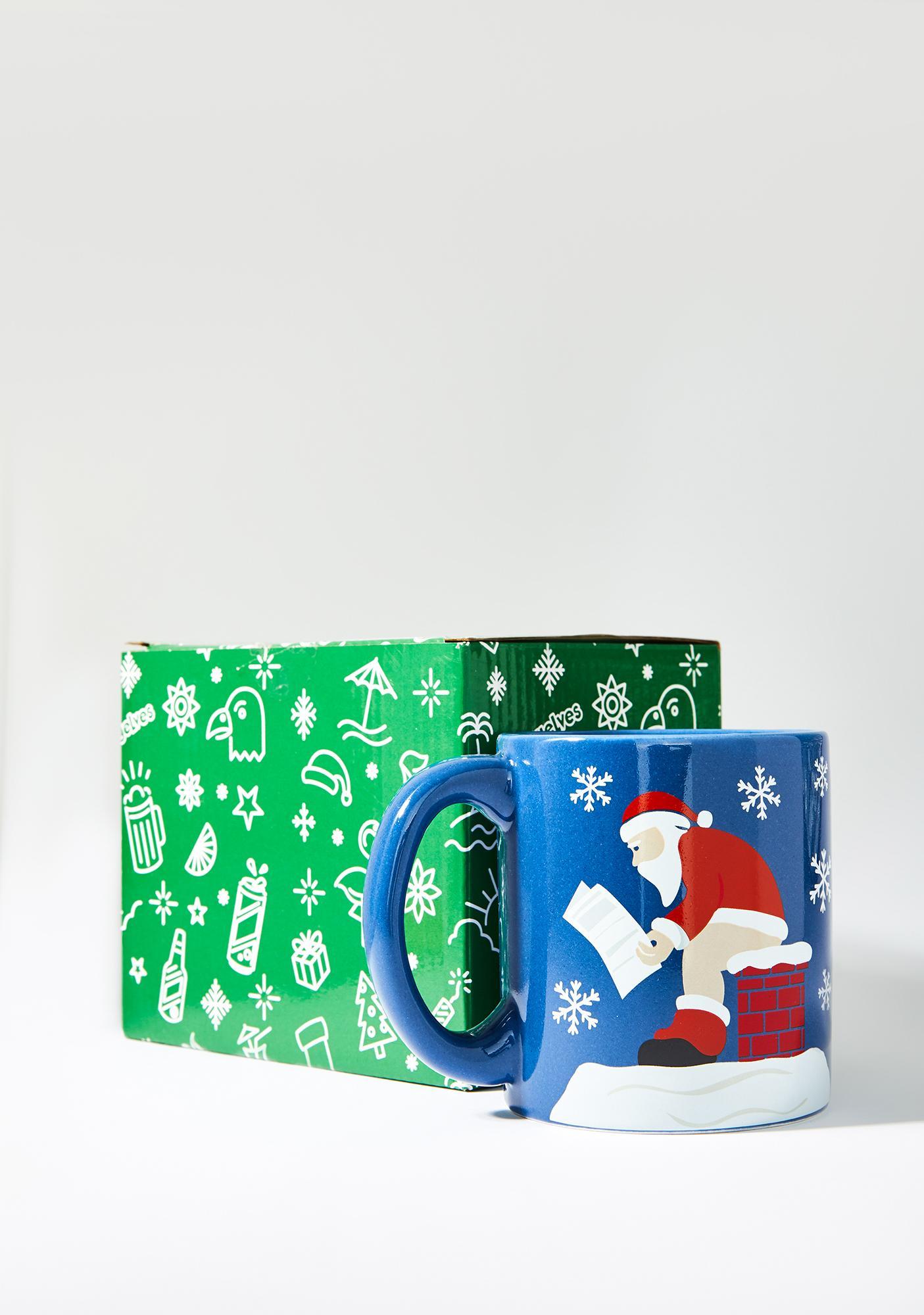 Tipsy Elves Santa Pooping Mug