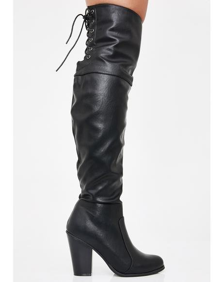 Diva Vixen Over The Knee Boots