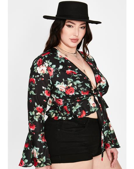 Got Boho Dreams Floral Crop Top