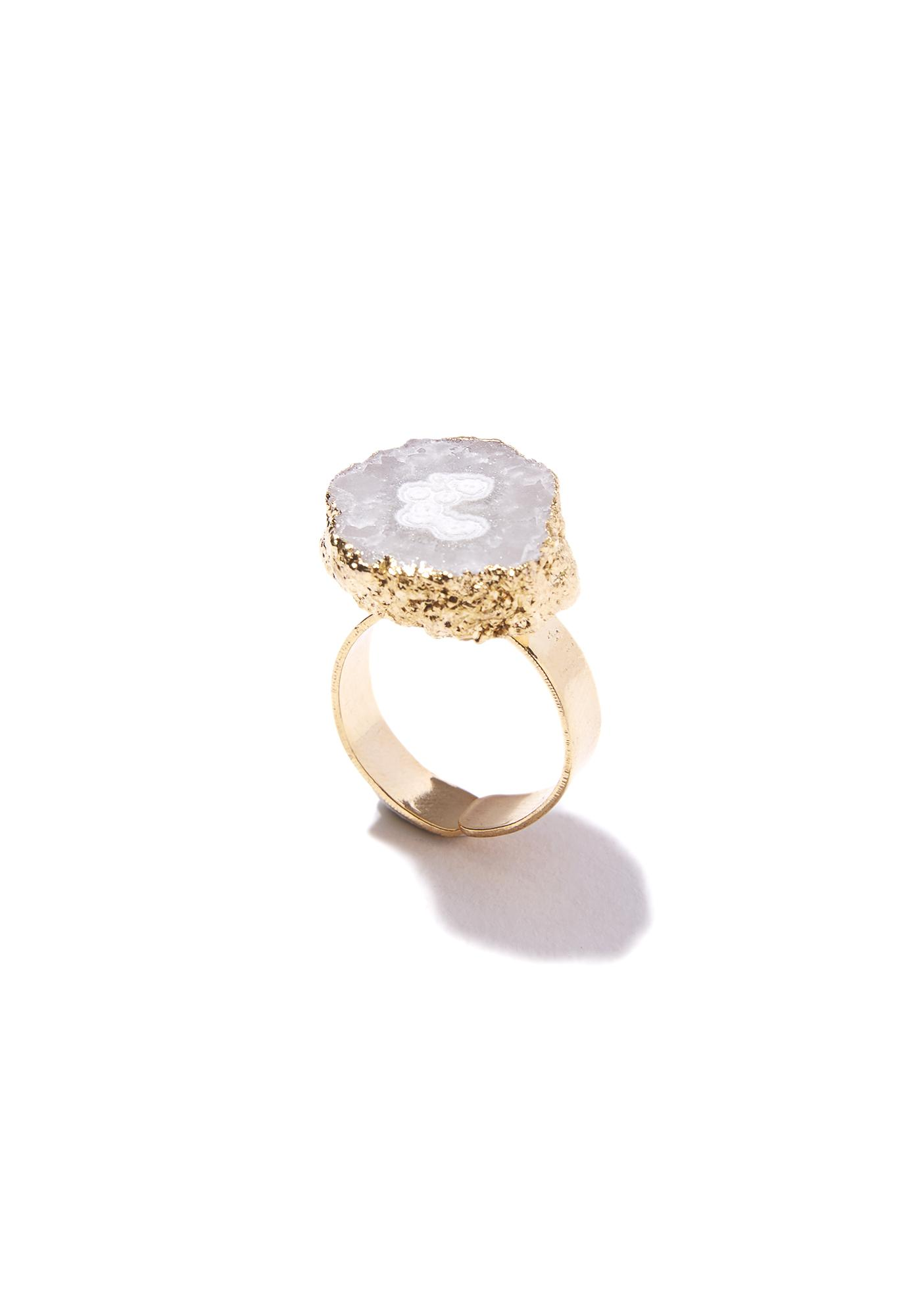 Stone Cold Crystal Ring