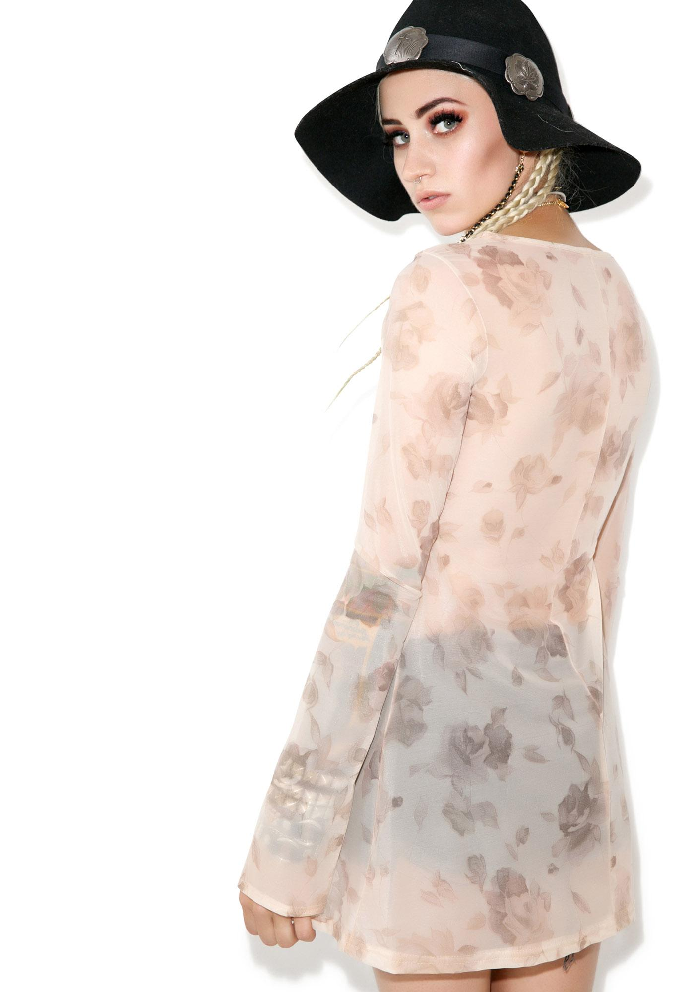 American Deadstock Floral Getaway Dress