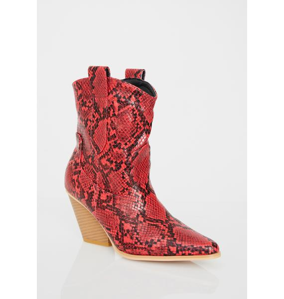 Siren Desert Romp Cowgirl Boots