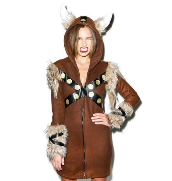 Raiding Vixen Viking Costume