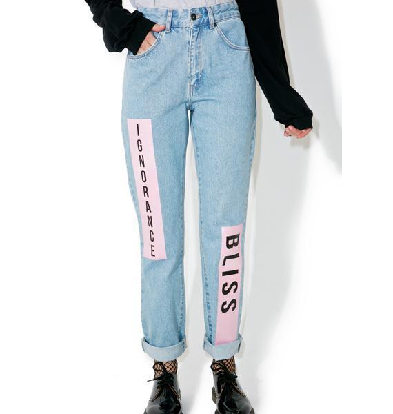 The Ragged Priest Euphoria Mom Jeans