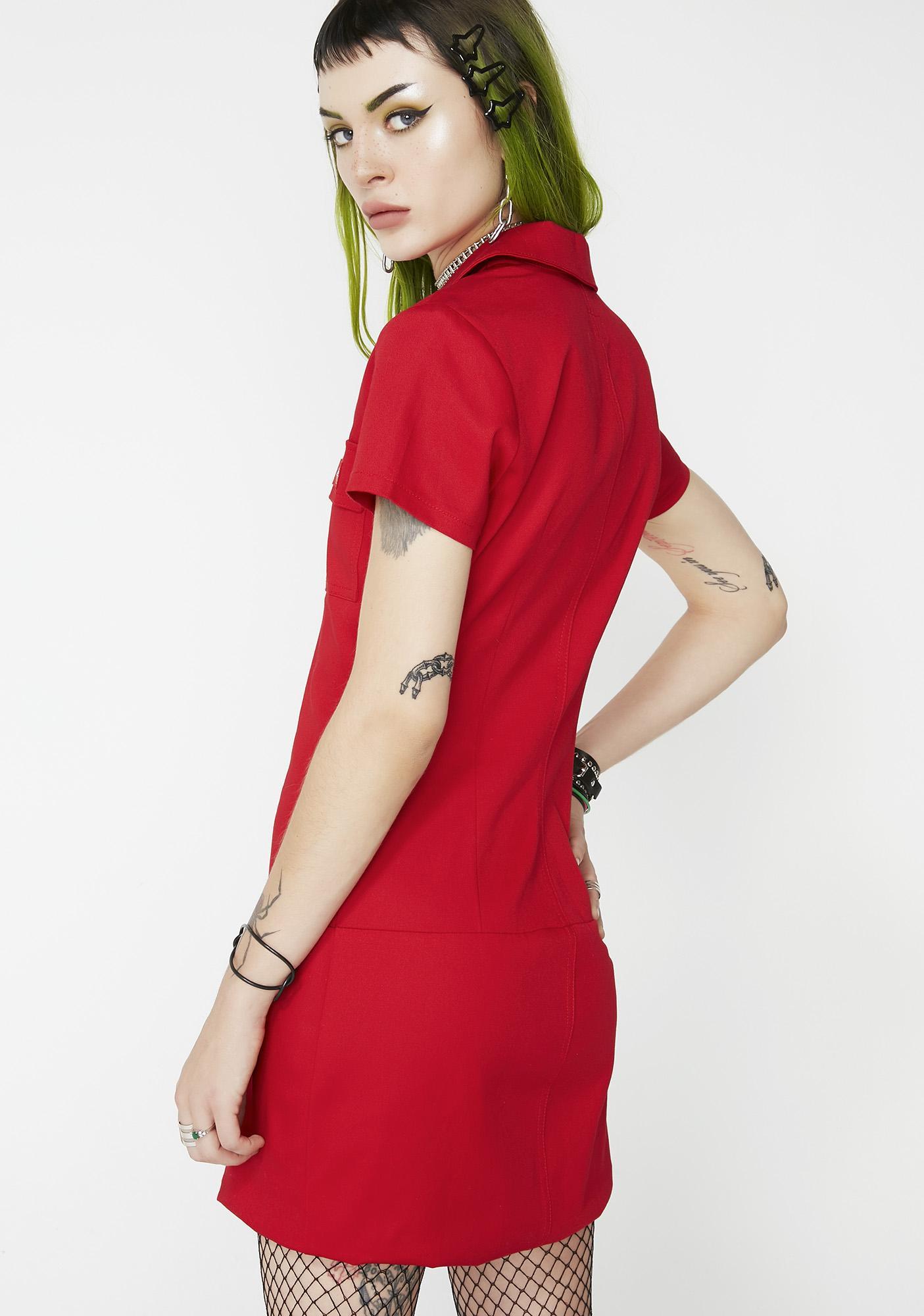Dickies Girl Bloody Annie Zipper Dress