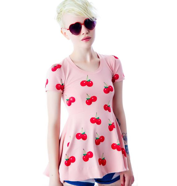 Wildfox Couture All Over Sweet Cherries Joan T