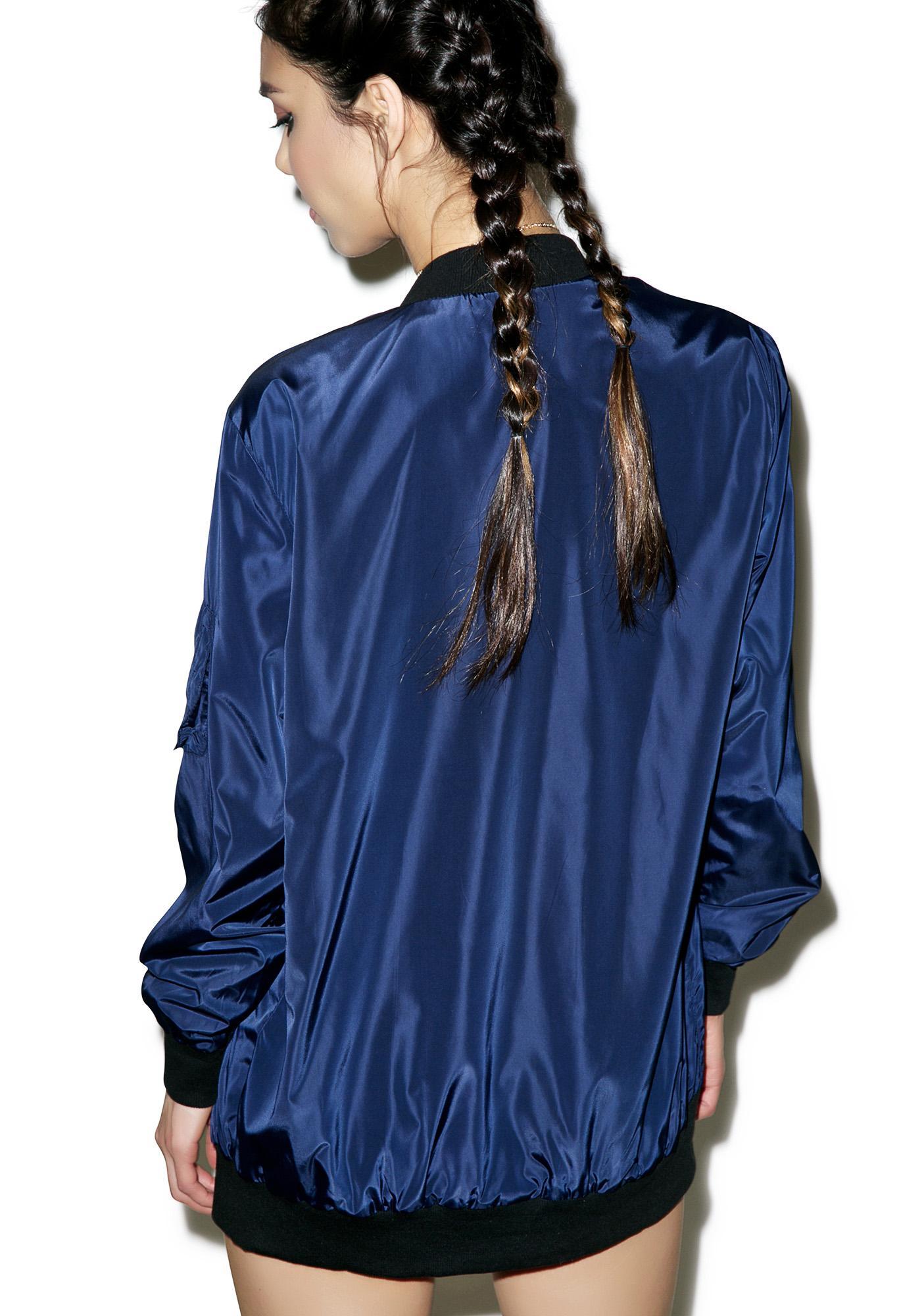 Azul Bomber Jacket
