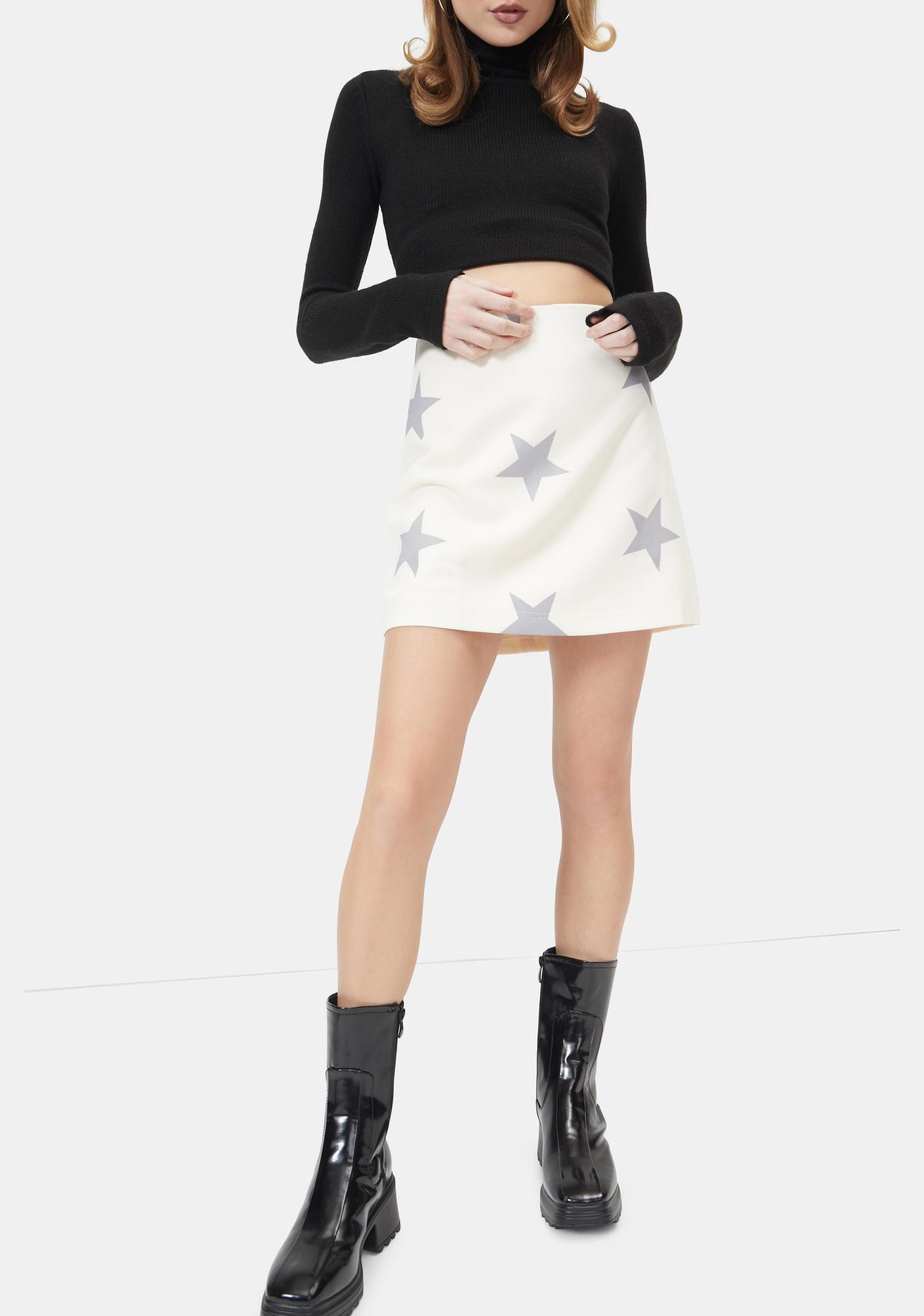 It's My Moment Star Mini Skirt