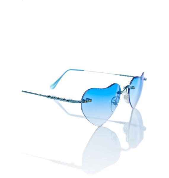 Blue Lolita Sunglasses