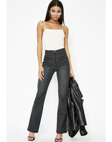 Line Of Werk Pinstripe Jeans