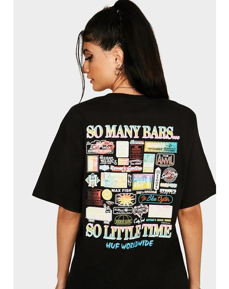 So Many Bars Graphic Tee