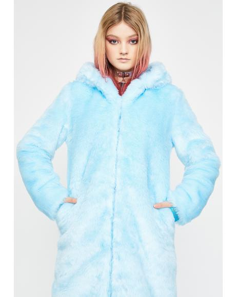 Polar Babe Faux Fur Coat