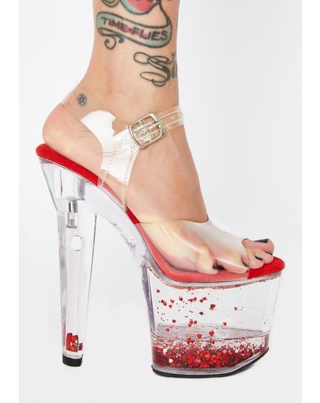 Lovesick Damsel Platform Heels