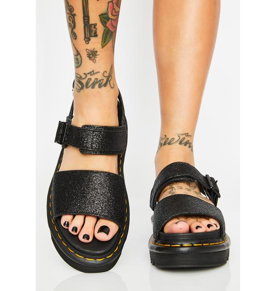 Dr. Martens Voss Glitter Sandals