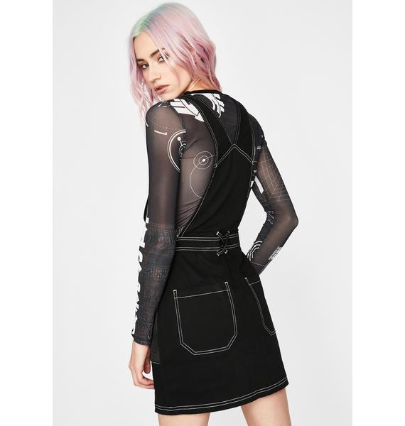 Current Mood Prime Delirium Overall Dress