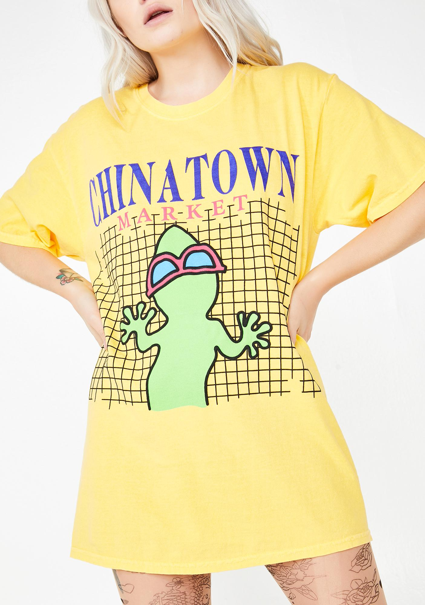 CHINATOWN MARKET Gecko Graphic T-Shirt
