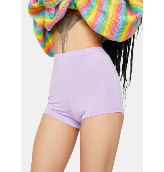 Kiki Riki Lilac You Go Girl Hot Shorts