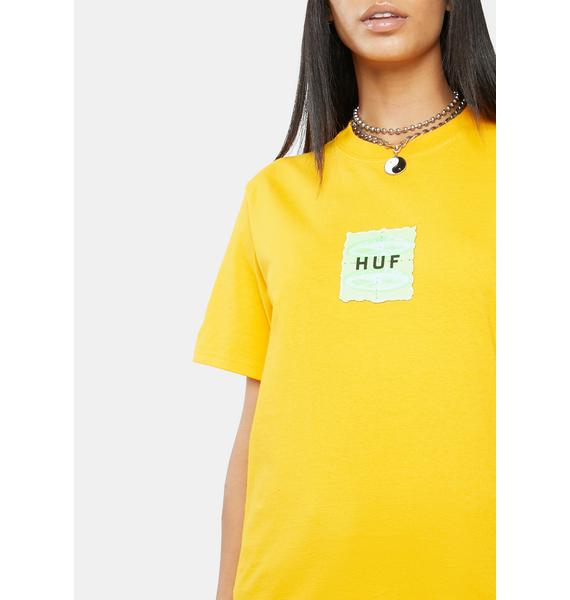HUF Gold UFO Short Sleeve Graphic Tee