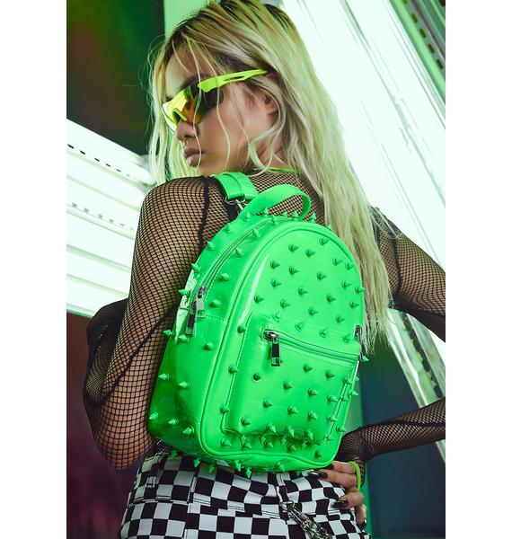 Current Mood Radioactive Rampage Mini Backpack