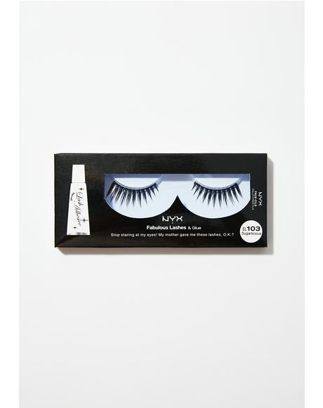 Sugarlicious Fabulous Lashes & Glue