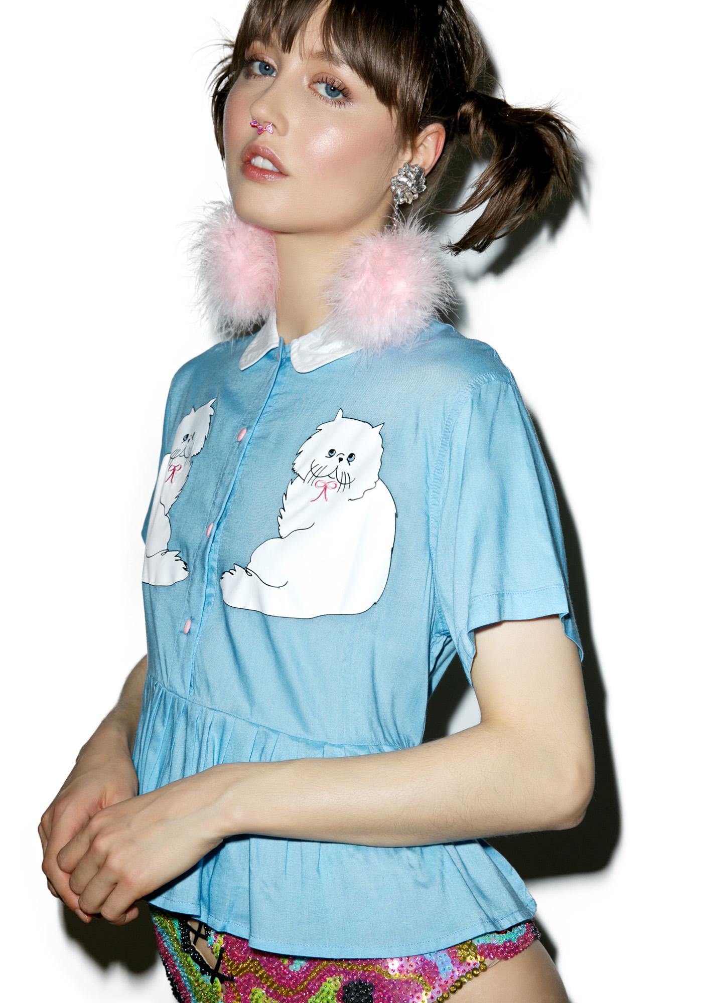 Lazy Oaf Kitty Friends Shirt