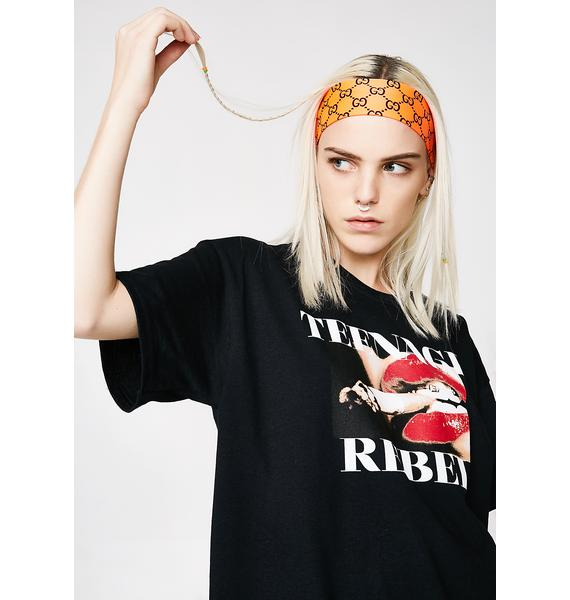 HLZBLZ Teenage Rebel Tee