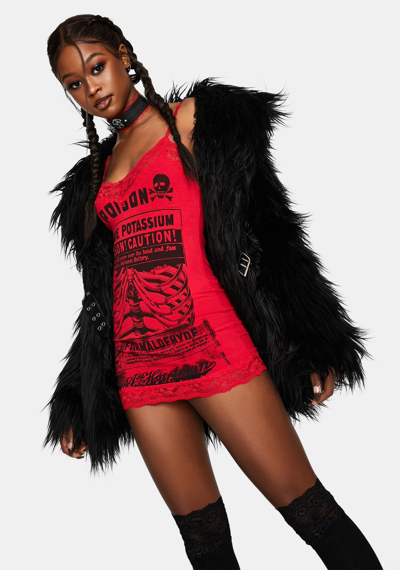 Se7en Deadly Poison Cami Dress
