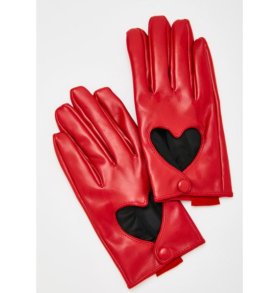 Olive & Pique Juliette Heart Gloves