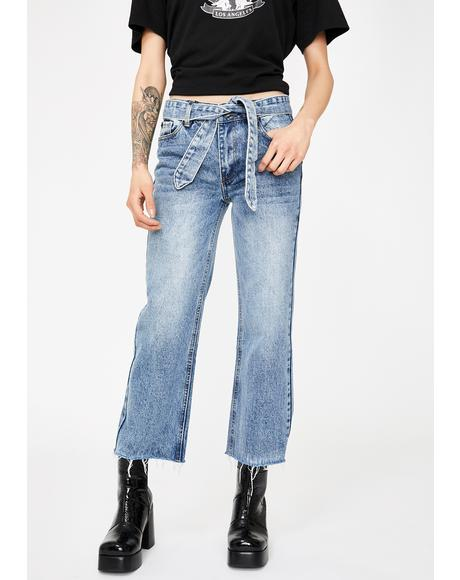 Valiant Wide Leg Crop Jeans