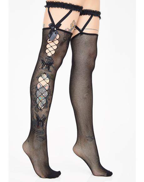 Stage Presence Garter Stockings