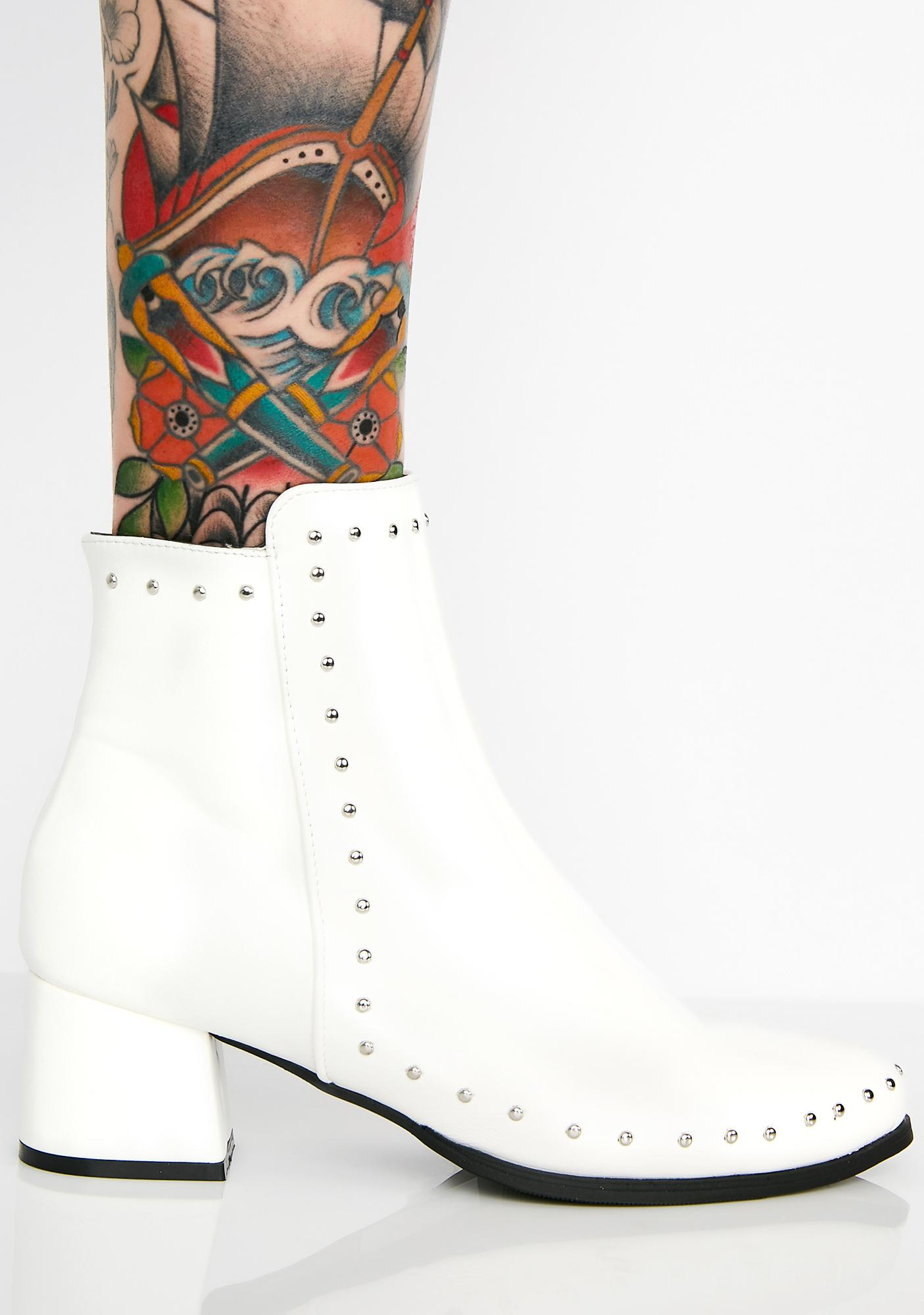 Purely Above it Studded Booties