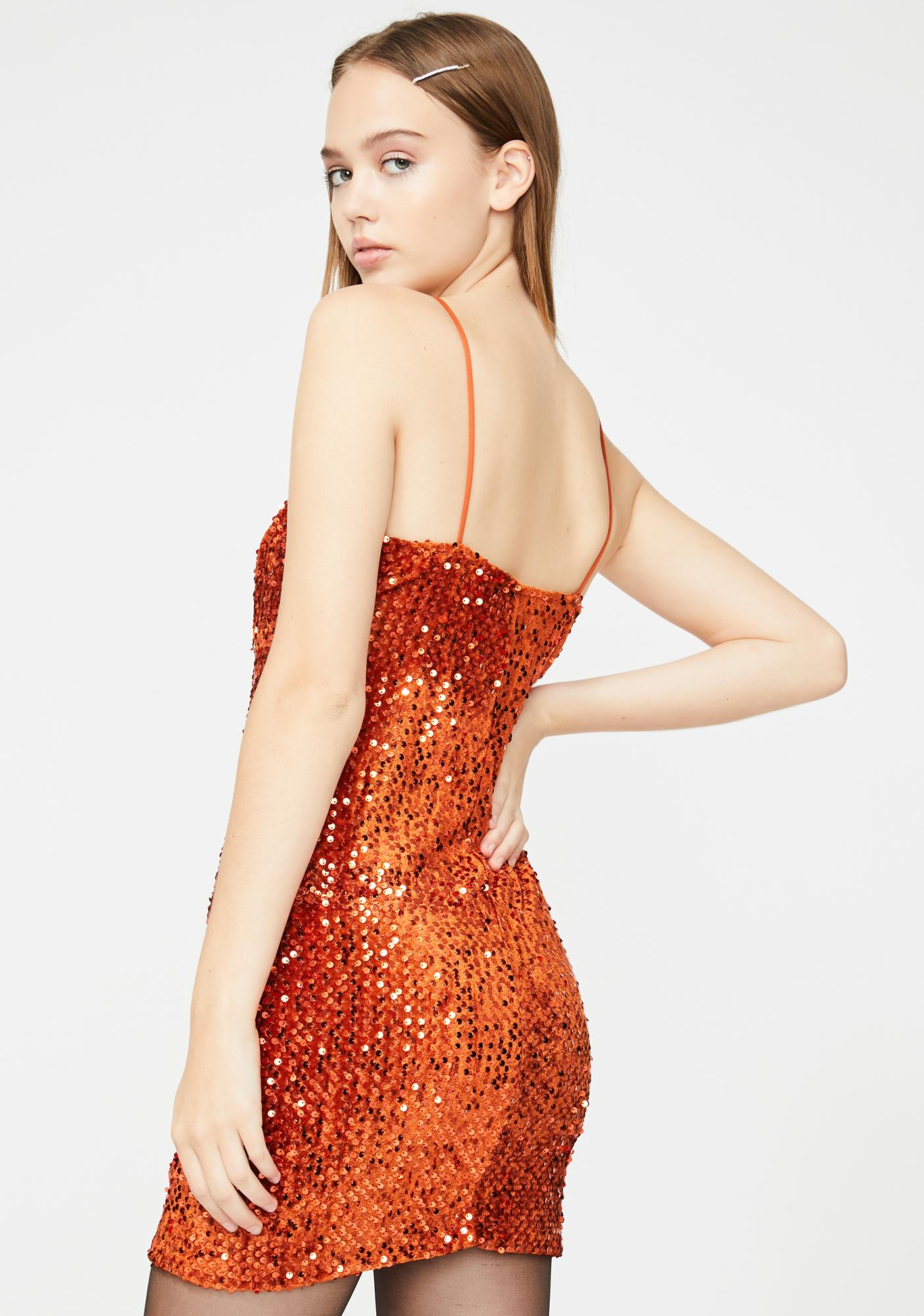 Motel Cecile Sequin Dress