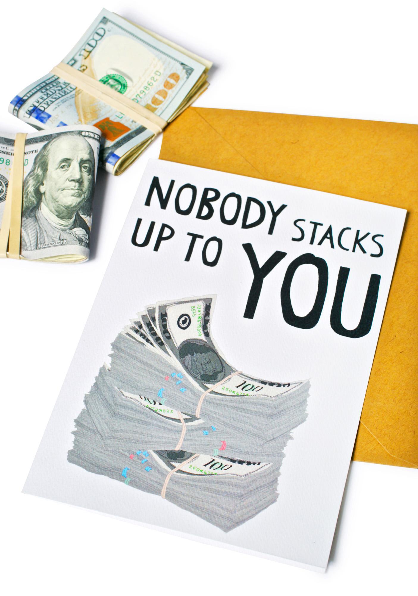 Fat Stackz Card