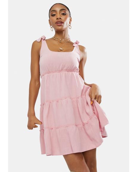 Rose Hanging On To Hope Mini Dress