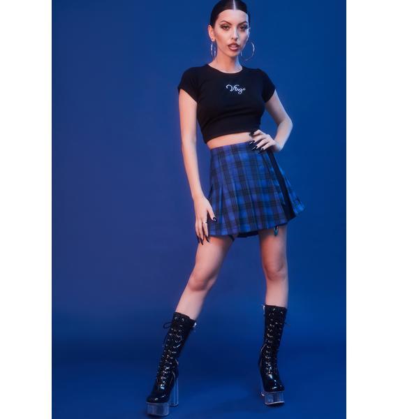 HOROSCOPEZ Did I Ask Pleated Skirt