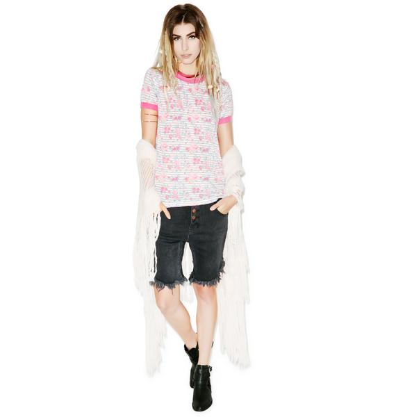 Wildfox Couture So 90's Vintage Ringer Tee