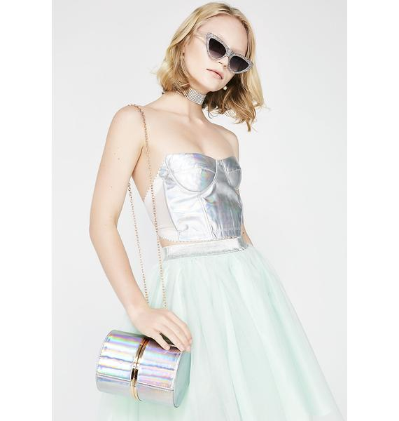 Holo Back Girl Holographic Bag