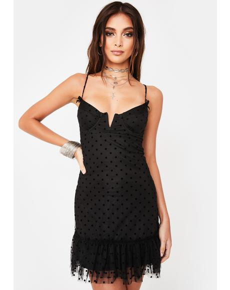 Mesh Cami Bra Dress
