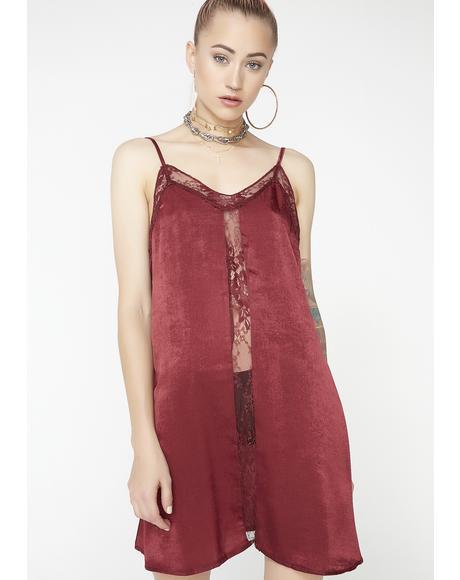 Just A Fan Slip Dress