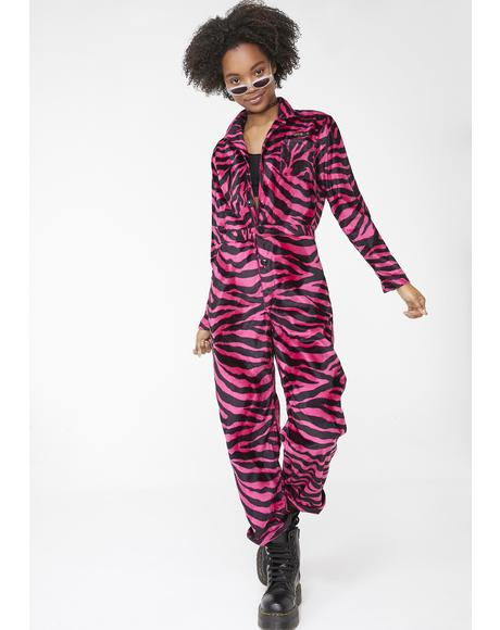 Barbie Zebra Coveralls