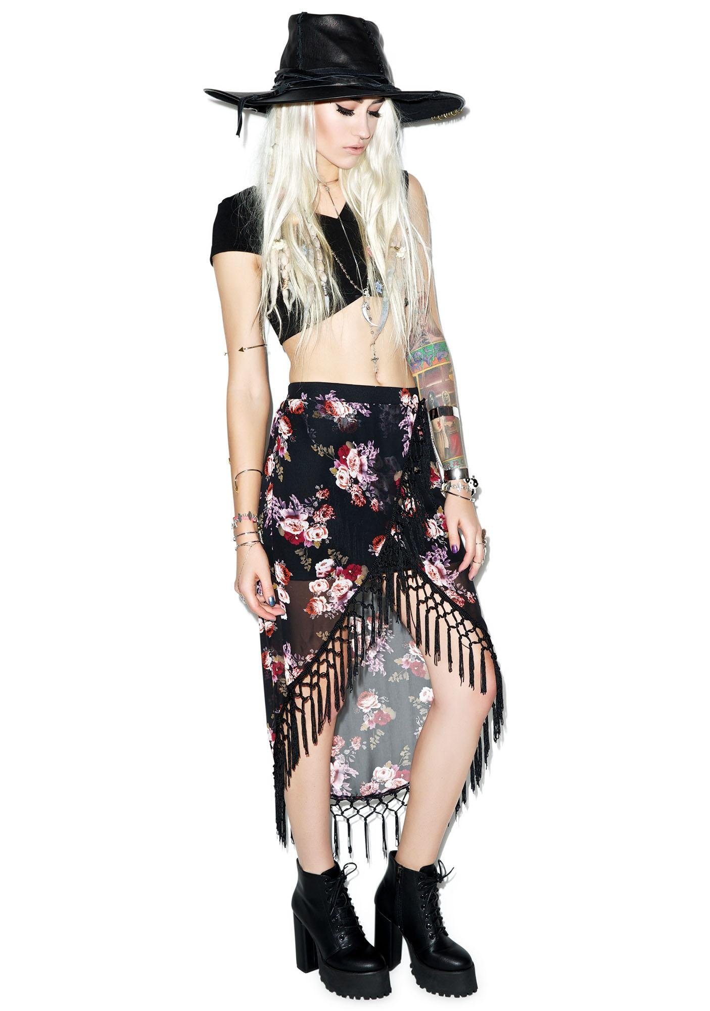 Rise of Dawn Gypsy Dancer Tassel Skirt